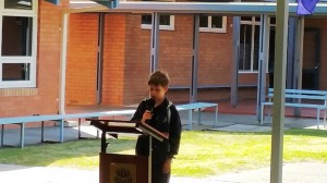 ANZAC Assembly 2015  1