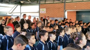 ANZAC Assembly 2015  2